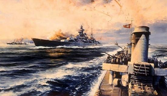 Offshore Bombardment