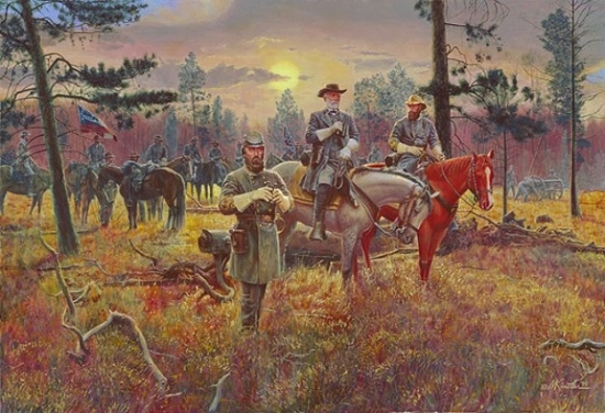 Confederate Sunset