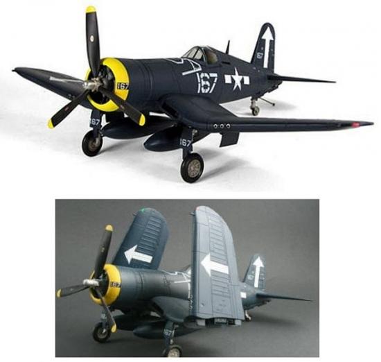 """F4U-1A Corsair """"Bunker Hill"""" 1:18 Scale"""