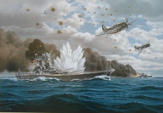 Sinking of the Yamato
