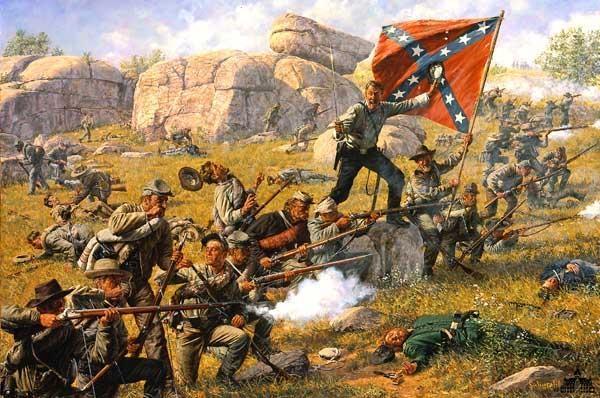 a description of a battle fought in the american civil war