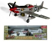 "P-51D Mustang""Ridge Runner"" 1:18 Scale"