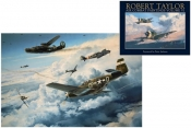 "Air Combat Paintings VI (USAAF Edition) & ""Where Eagles Gathered"" Print"