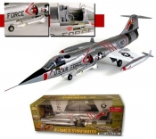 F-104C STARFIGHTER Shooting Star Silver USAF 1:18 Scale