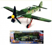 FW-190D-9 RED 3 Germany JG-44 1:18 Scale