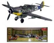 BF-109G-6 BLACK 8 GREEN HEARTS 1:18 JG-54 1:18 Scale