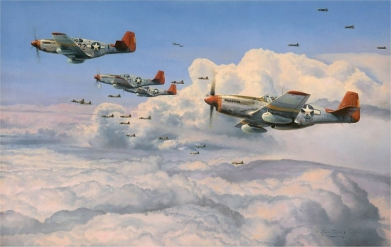 Fighting Red Tails (Tuskegee Edition - 5 Signatures)