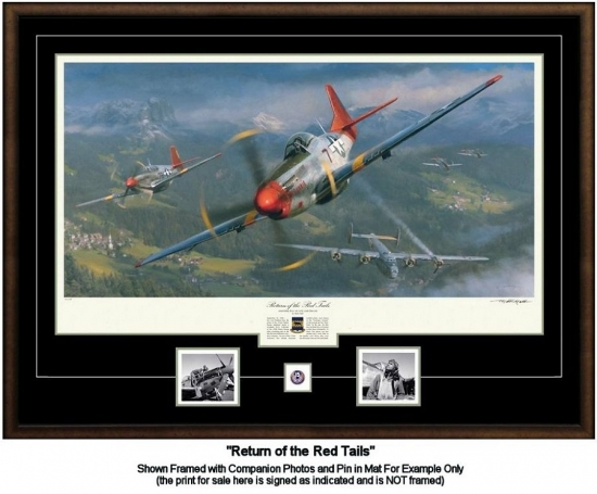 Return of the Red Tails AP (Tuskegee Airmen) SOLD OUT!
