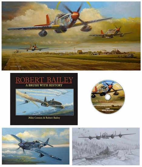 Ramitelli Rumble AP Prints, Book, & CD Set (Tuskegee Airmen)