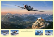 Mustangs Over the Eagles Nest (Commemorative Proof)