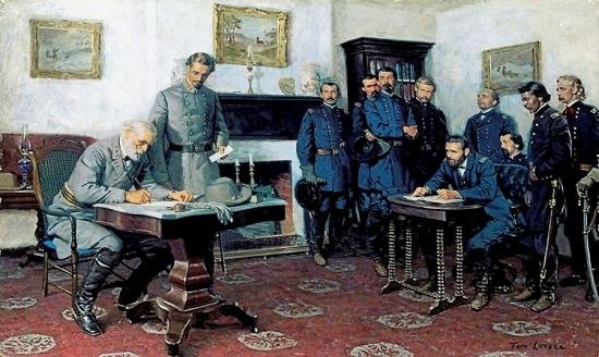 Surrender At Appomattox (PRINT)
