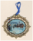 Winter Riders 2006 Ornament (Kunstler)