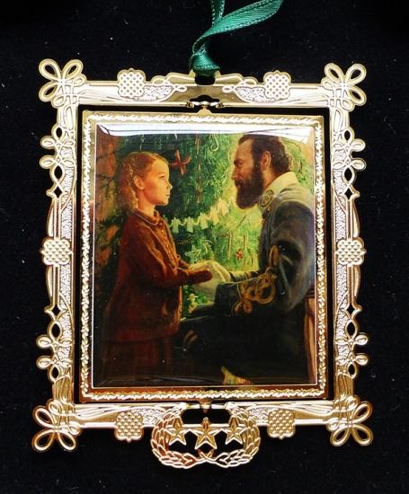 Janie Corbin & Old Jack 2002 Ornament (Kunstler) SOLD OUT!