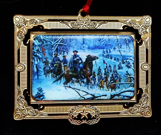 Confederate Crossing 2008 Ornament (Kunstler) LAST ONE!